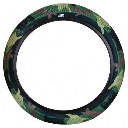 Cult Vans Tyre - Camo With Black Sidewall 2.40""